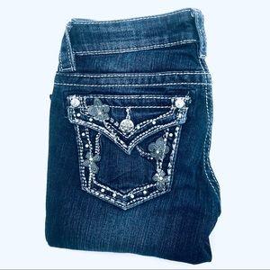 Miss Me Boot Cut Jeans, Size 25, EUC